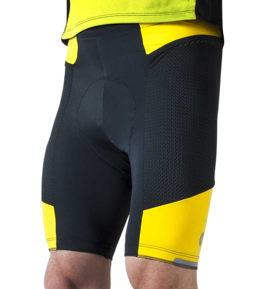 men's gel padded touring shorts