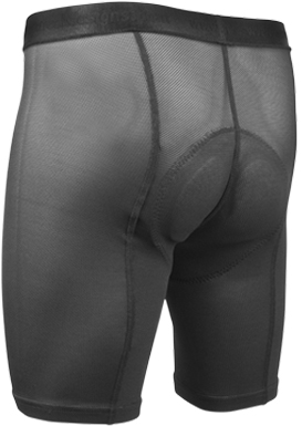 Men's Gel padded cycling underliner bicycling underwear.