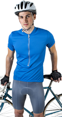 joe in royal blue cycle jersey