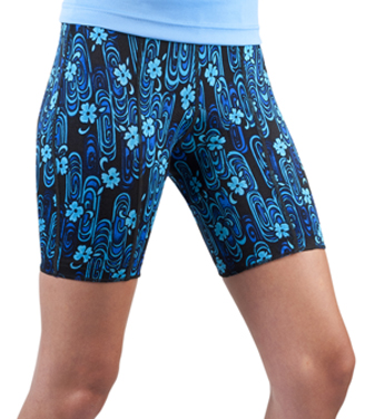 women's classic padded shorts