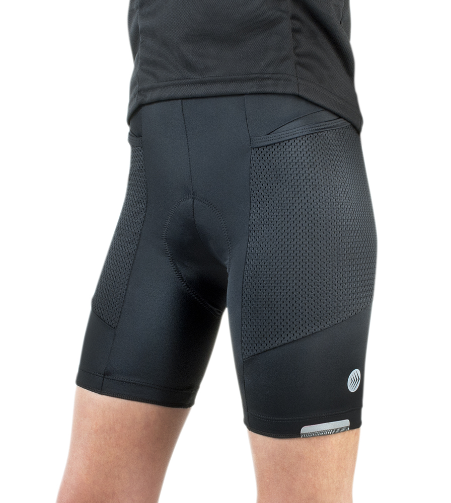aero tech touring shorts for women