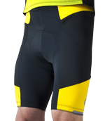 gel padded touring short