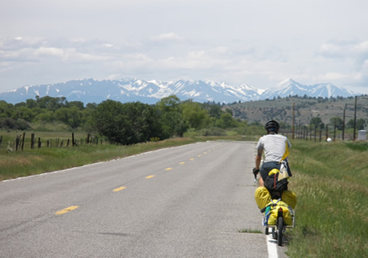bicycle touring across the United States