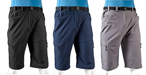 Multiple Colors in Men's Urban Commuter Shorts