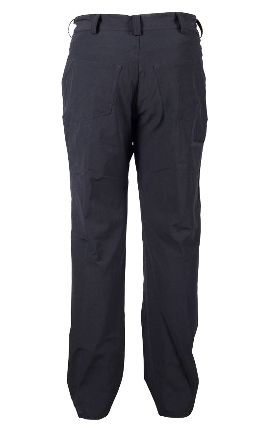 zoic downtown bicycle commuter pants back view black