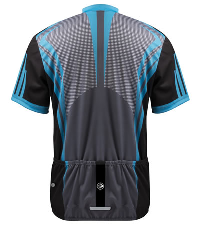 aero tech big man's cycling jersey