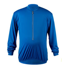 royal big man's long sleeve bike jersey