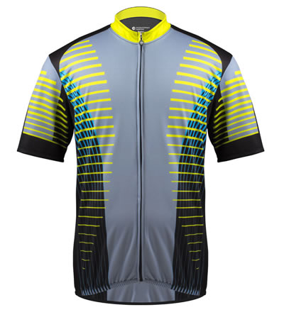 El Grande - Big Man Sprint Cycle Jersey front view