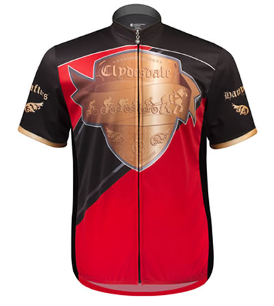 Full Zip Big Size cycle jersey