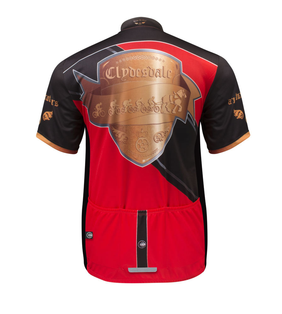 Big man's Clydesdale cycling jersey