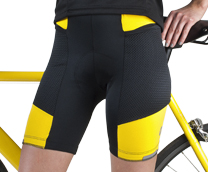 women's gel padded bike shorts