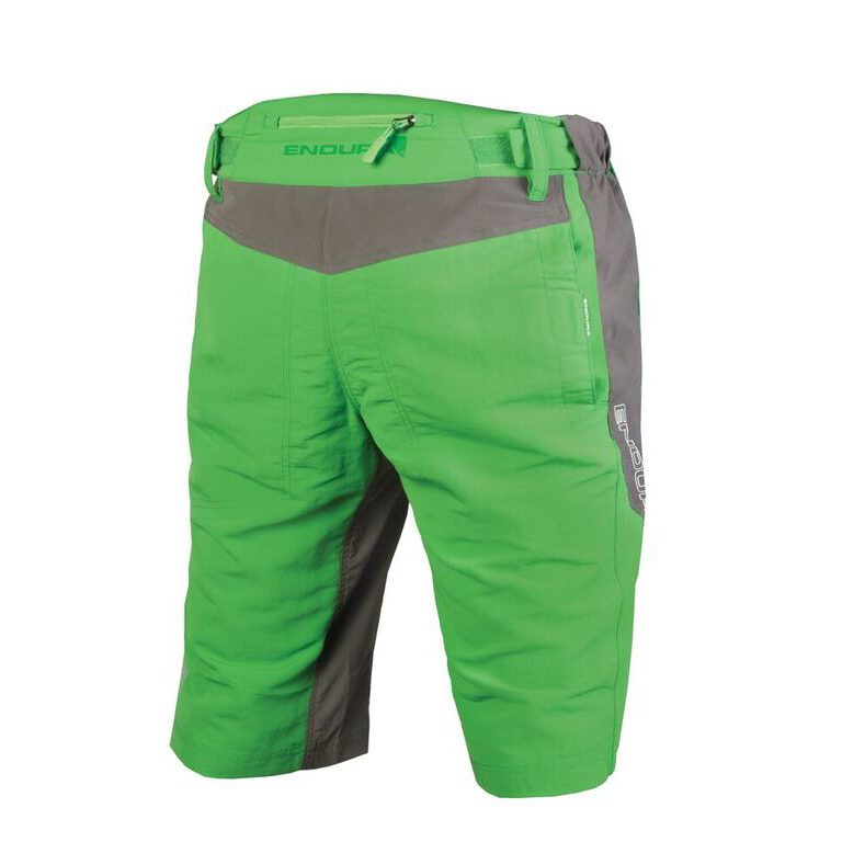 Tough and great looking baggy cargo singletrack shorts with clickfast padded mesh liner