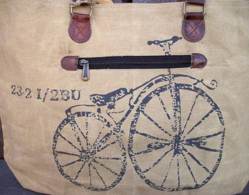 earth friendly recycle canvas bag mona b
