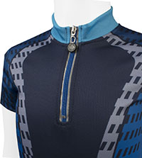 Blue Power Tread Jersey