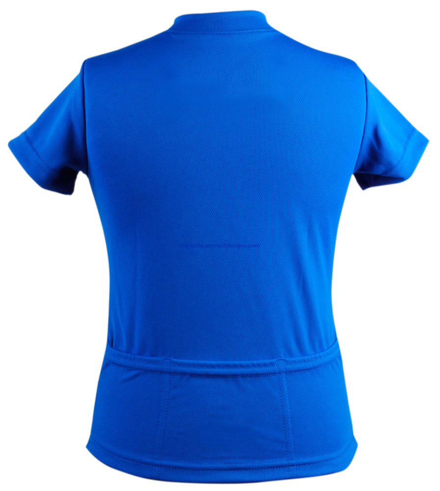 blue cycle jersey