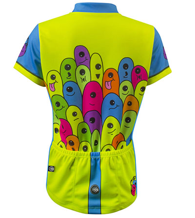 Glowworms Jersey Back