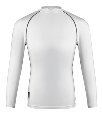 White compression shirt
