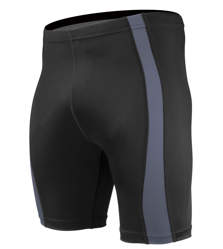 mens charcoal fitness shorts