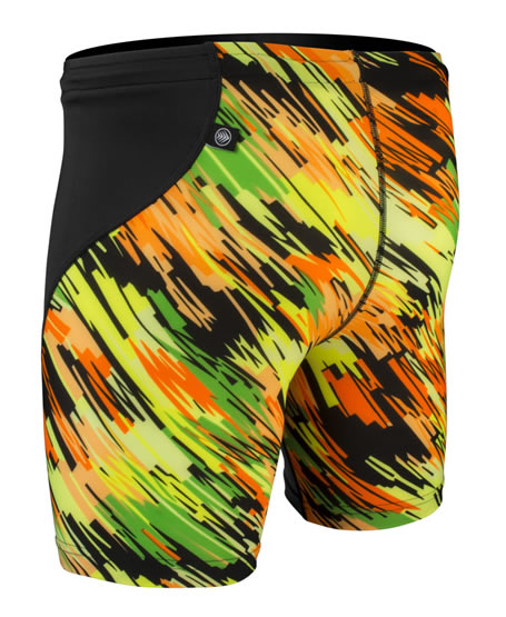 Men's High Visibility - Spandex Exercise Short