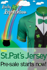 St. Patrick's Day Cycling Jersey