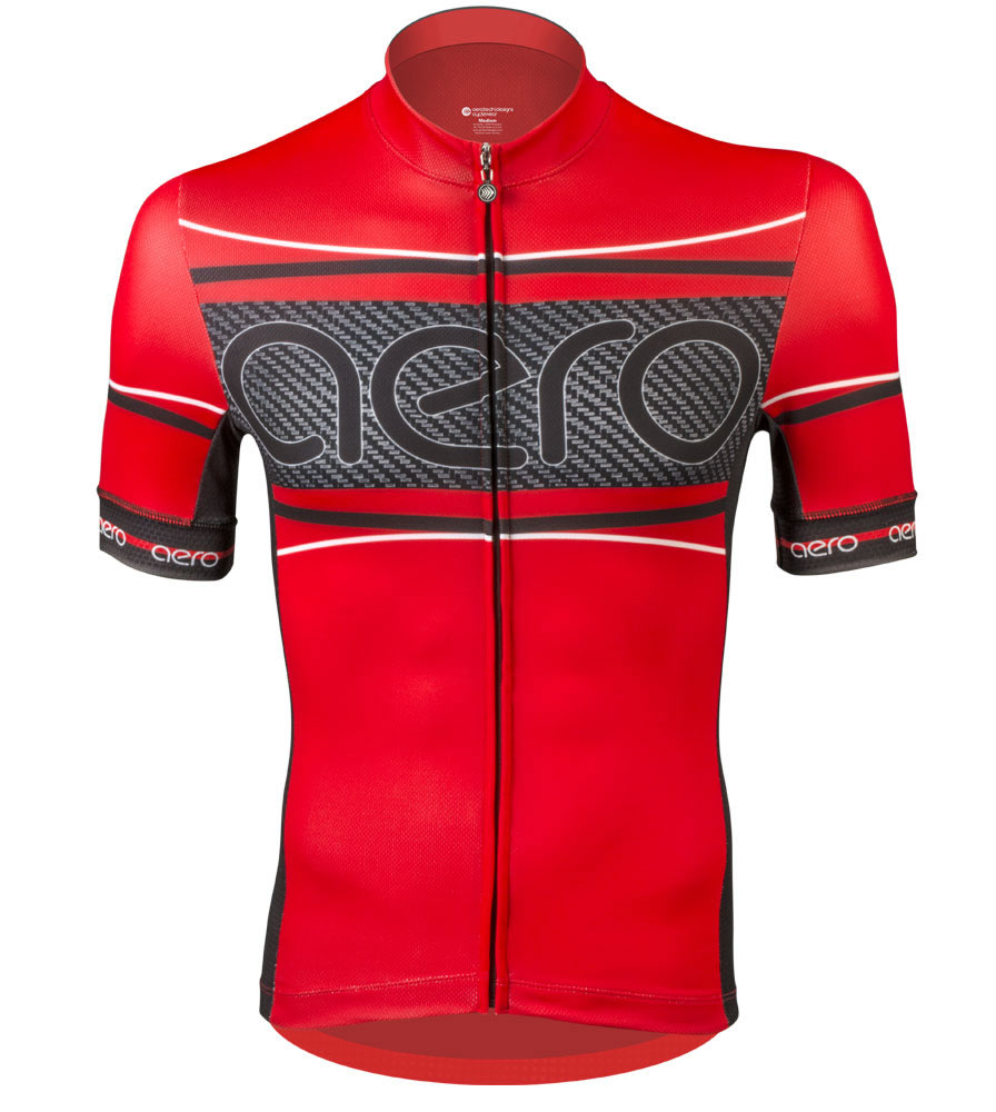 Red Carbon Racing Jersey
