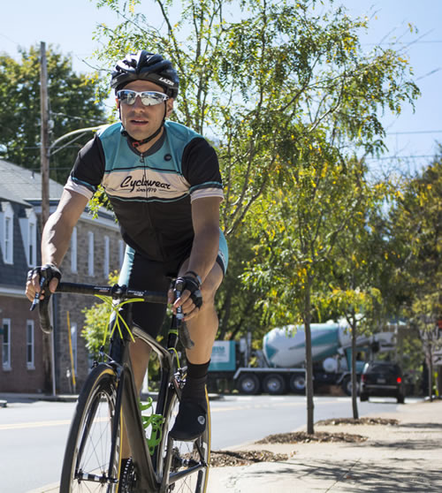 Bianchi green color cyclewear
