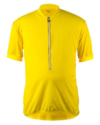 yellow bike jersey for big and tall