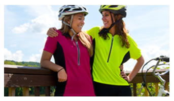 high visibility club jersey for women