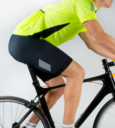 Elite cycling short from Aero Tech