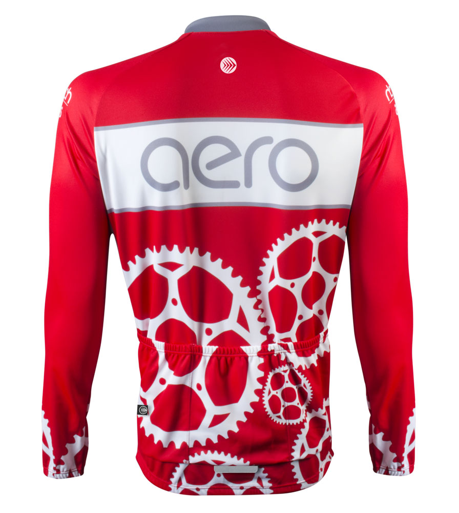 Red Chainring Jersey - Sprocket Man
