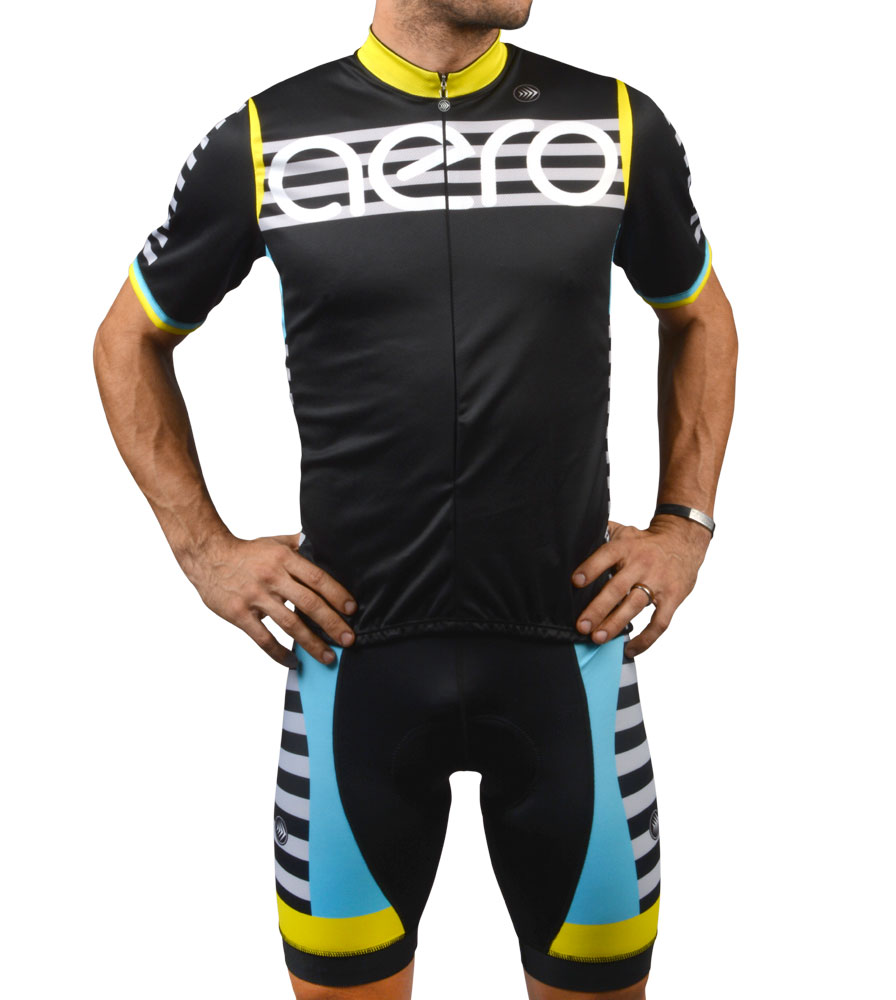 Jordan in the aero modern cycling kit