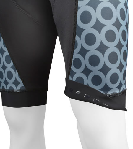 light leg bands keep shorts in place