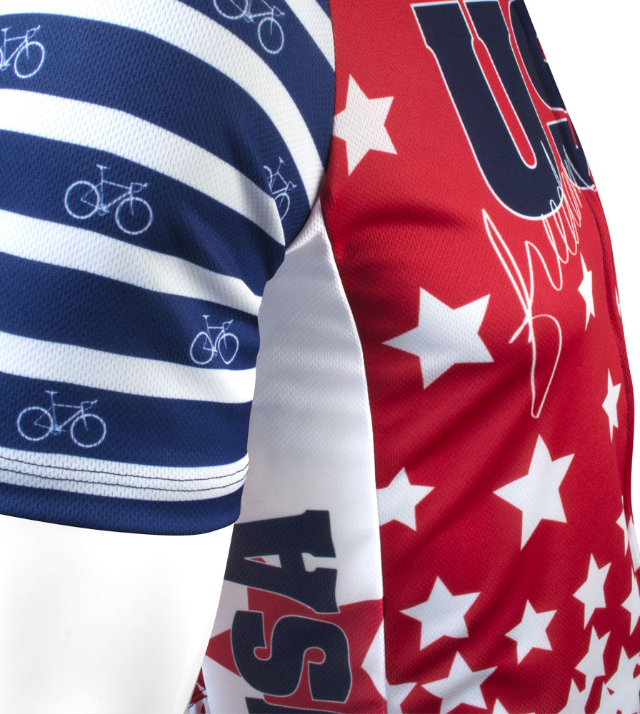 USA bicycle jersey