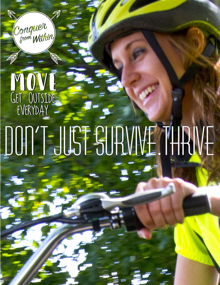 Pefect for avid female cyclists to thrive and feel alive.