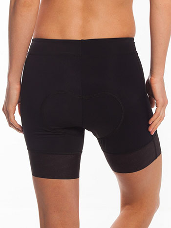 Coeur Women's Black Padded Bike Shorts