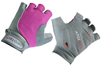 pink bike gloves