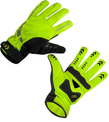 high visibility neon glove