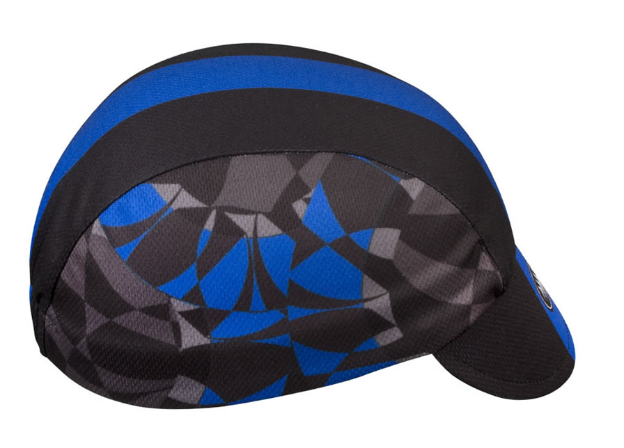 Aero Tech cycling cap- blue
