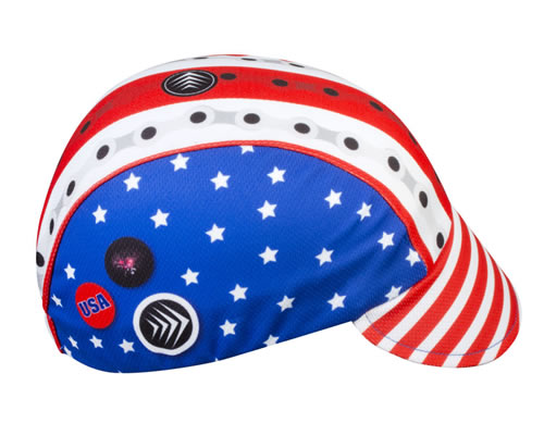 patriotic cycle cap