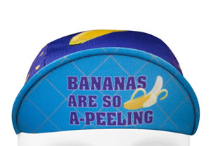 banana cycling hat