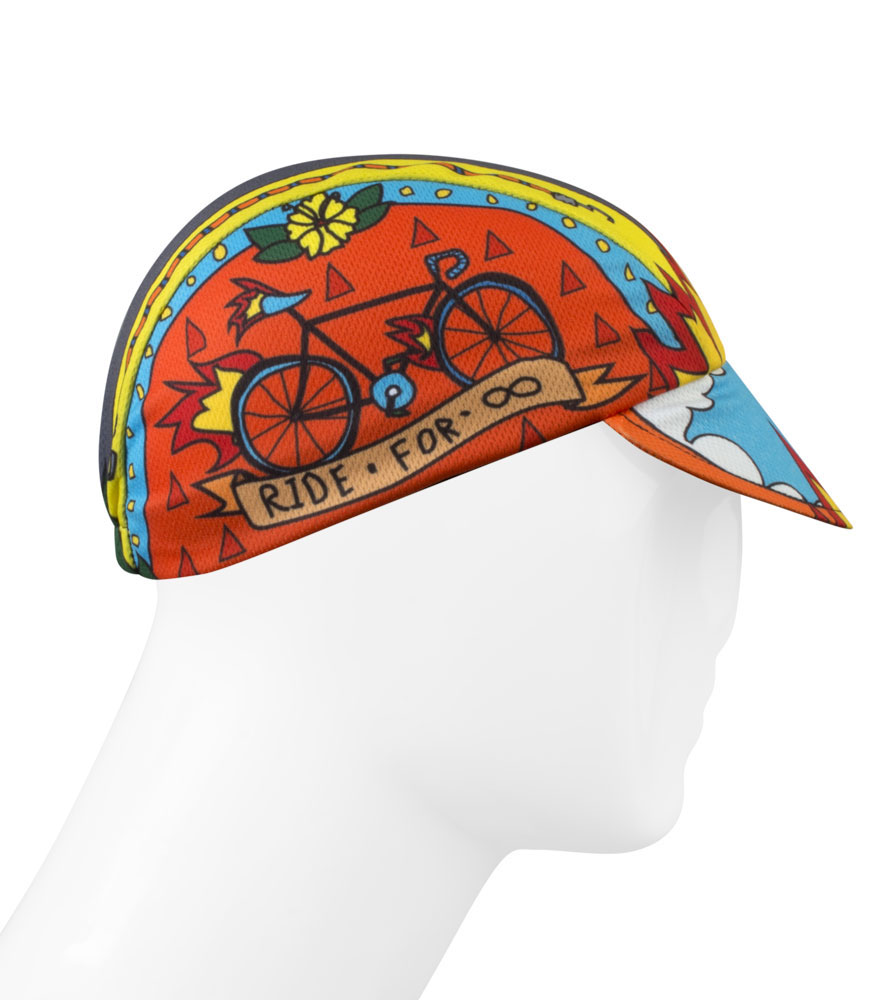 Ride for Infinity Cycle hat