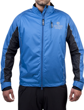 blue cycle jacket