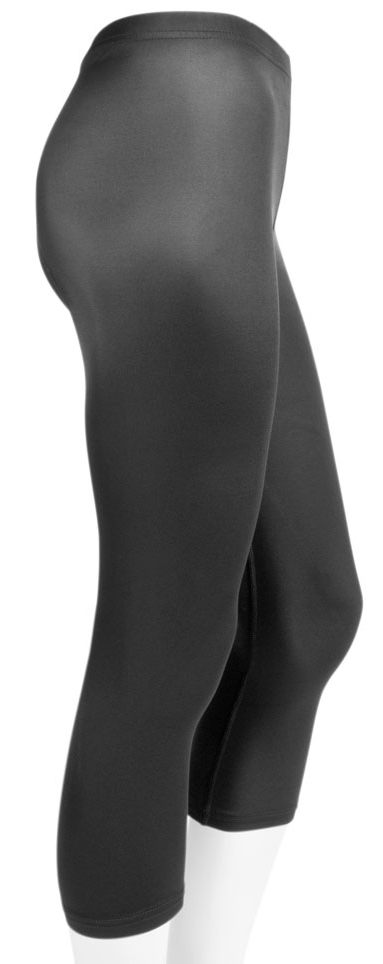 Plus Size Women's Spandex Workout Capri