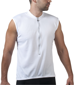 sleeveless bike jersey