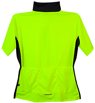 neon yellow cycling jersey