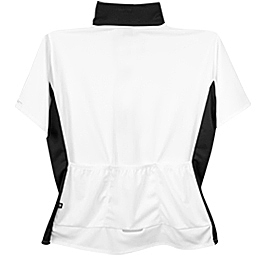 white cycling jersey for plus women