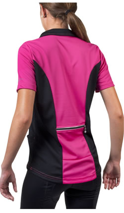pink biking apparel