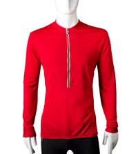 red bike jersey in tall size