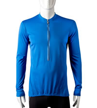 royal blue winter bike jersey