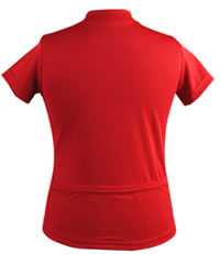 red youth jersey back pockets